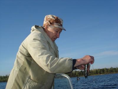 Рыбак со стажем