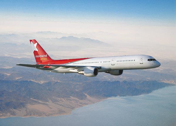 Самолет компании NordWind