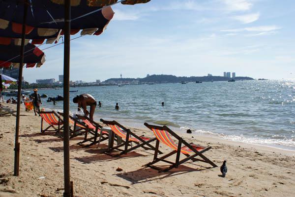 пляж Поттайя