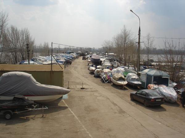 """Зимнее хранение лодок на л/с """"Прокат"""""""