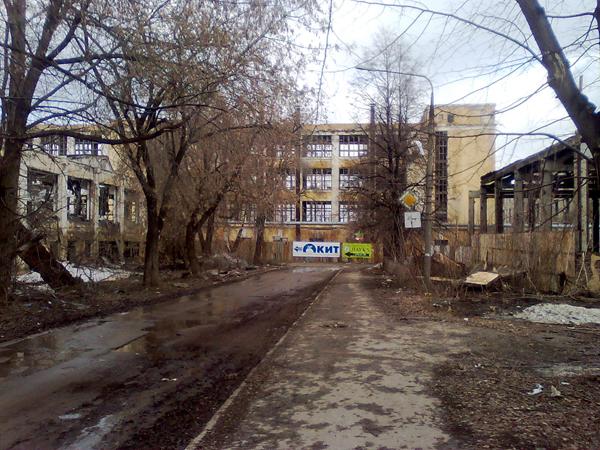 Аллея завода им. Масленникова