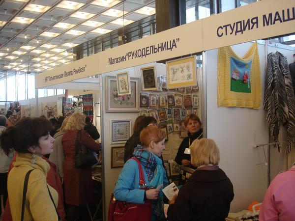 """Магазин """"Рукодельница"""" в ТЦ """"Невский"""""""